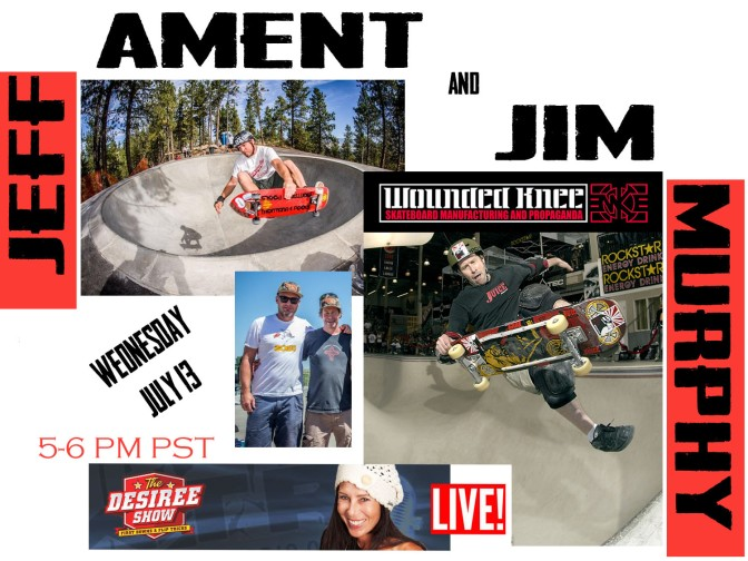 Jeff  Ament & Jim Murf Murphy on The Desiree Show